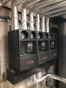 Solarfocus Pelletheizung mit Bunkerlager-Saugsonden und Solarthermie-Anlage in Heppenheim 07