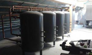 Viessmann Luft/Wasser-Wärmepumpe Enthärtungsanlage von Grünbeck in Heppenheim 02