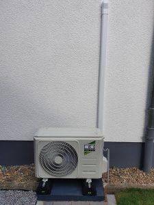 01 Neue Remko Klimaanlage im Wohnzimmer - Altbau in 64646 Heppenheim